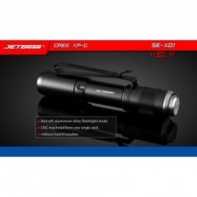 JETBeam SE-A01 Senter LED Mini CREE XP-G3 130 Lumens - Black - 3