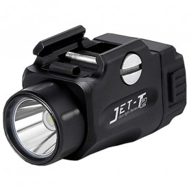 JETBeam T2 Senter LED Mini Pistol Light CREE XP-L HI 520 Lumens - Black