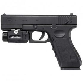 JETBeam T2 Senter LED Mini Pistol Light CREE XP-L HI 520 Lumens - Black - 3