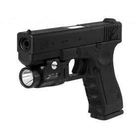 JETBeam T2 Senter LED Mini Pistol Light CREE XP-L HI 520 Lumens - Black - 4