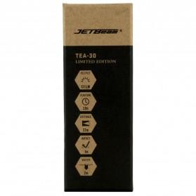 JETBeam Senter LED Mini CREE XP-G 131 Lumens - TEA-30 - Black