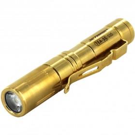 JETBeam Senter LED Mini CREE XP-G 131 Lumens - TEA-30 - Golden