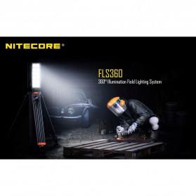Nitecore Light Panel Floodlight 3 LED 360 Degree 22000 Lumens - FLS360 - Black - 2