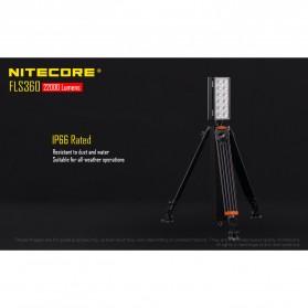 Nitecore Light Panel Floodlight 3 LED 360 Degree 22000 Lumens - FLS360 - Black - 5