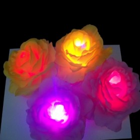 LED Waterproof Flower Lamp - AA-PCWC04 - Yellow