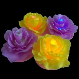 LED Waterproof Flower Lamp - AA-PCWC04 - Yellow - 2