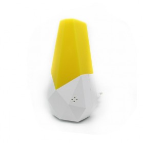 LED Automatic Voice Activated Sensor Night Light - AA-YH229 - Yellow