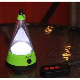 LED Radio Remote Camping Tent Lights - AA-SZD007 - Orange