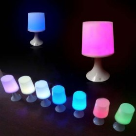 LED Popular Convenient Touch Table Lamp - AA-SJ001 - White