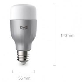 Xiaomi Yeelight Smart Bulb LED RGB 9W 600 Lumens E27 1700K - 6500K - YLDP02YL - 6