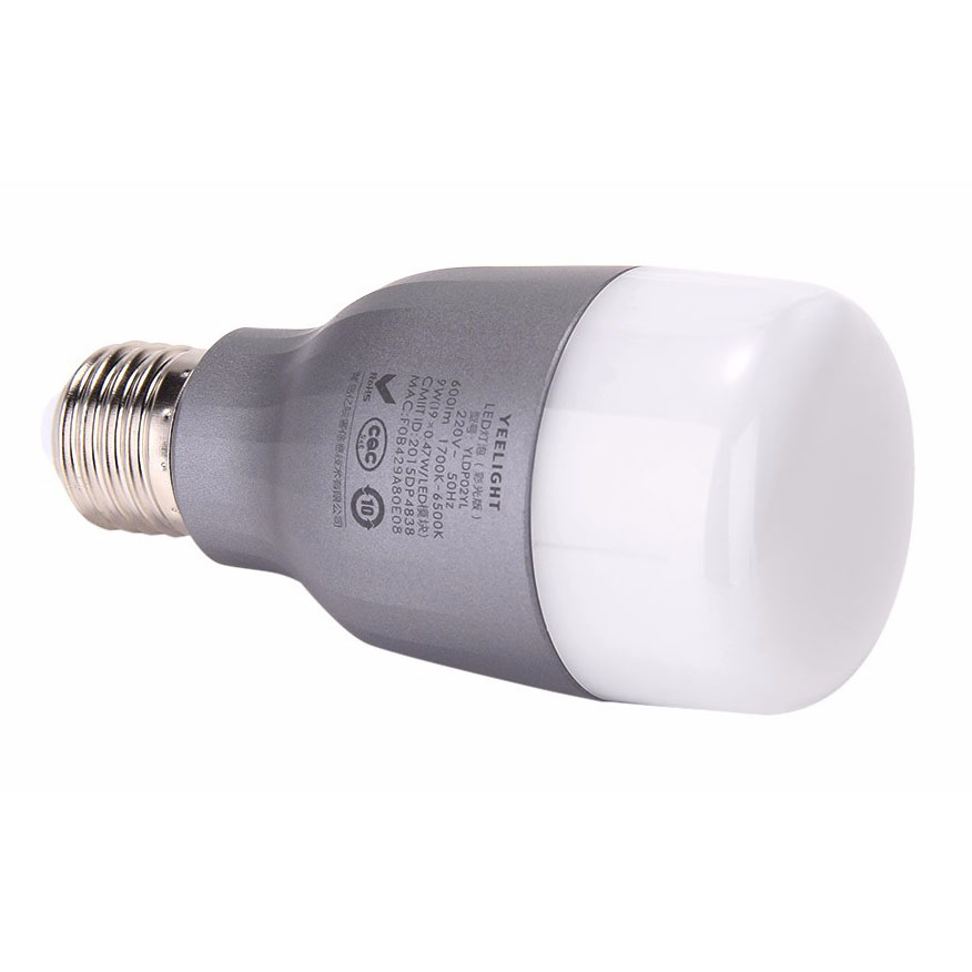 Xiaomi Yeelight 2 Smart Bulb Led Rgb 9w 600 Lumens E27