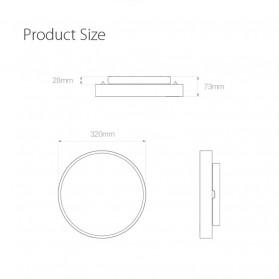 Xiaomi Yeelight Lampu LED Plafon Wifi Bluetooth 2700K - 6500K - YLXD01YL - White - 5