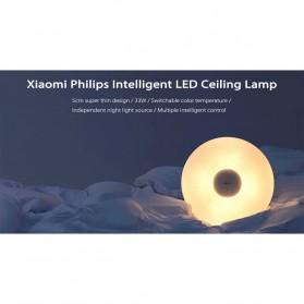 Xiaomi Mijia Philips ZhiRui Lampu LED Plafon Ceiling Smart Lamp WiFi 2700K - 5700K - White - 4