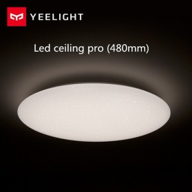 Xiaomi Yeelight Galaxy Lampu LED Plafon Wifi Bluetooth 32W 480mm 2700K - 6000K - YLXD05YL - White