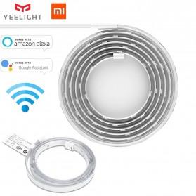 Lampu Hias LED - Xiaomi Yeelight Aurora Lightstrip Plus LED RGB 2 Meter with Smart Controller - YLDD04YL - White