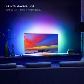 Xiaomi Yeelight Aurora Lightstrip Plus LED RGB 2 Meter with Smart Controller - YLDD04YL - White - 9