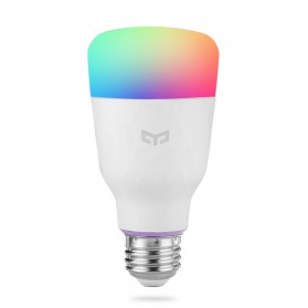 Xiaomi Yeelight Bohlam Smart RGB LED Bulb 10W 800 Lumens Color Version 1700K - 6500K - YLDP06YL - White