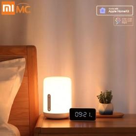 Xiaomi Mijia Bedside Lamp 2 Lampu Tidur LED RGB Bluetooth WiFi Touch Control - MJCTD02YL - White