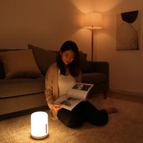 Xiaomi Mijia Bedside Lamp 2 Lampu Tidur LED RGB Bluetooth WiFi Touch Control - MJCTD02YL - White - 6