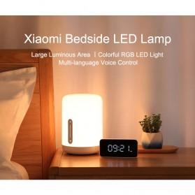 Xiaomi Mijia Bedside Lamp 2 Lampu Tidur LED RGB Bluetooth WiFi Touch Control - MJCTD02YL - White - 9