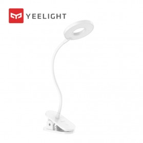 Xiaomi Yeelight Mijia LED Desk Lamp Lampu Meja Baca Clip On 5W 3700K - YLTD12YK - White