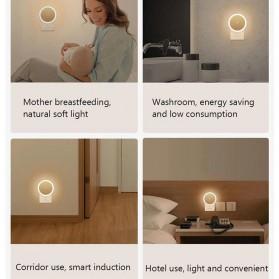 Xiaomi MiJia Yeelight Lampu Tidur LED Light sensor + PIR motion sensor - YLYD03YL - White - 6