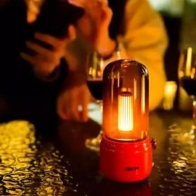 Youpin Lofree Lampu Minyak Teplok LED Kerosene Retro LED Lamp - EP502 - White - 4