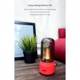 Youpin Lofree Lampu Minyak Teplok LED Kerosene Retro LED Lamp - EP502 - White - 9
