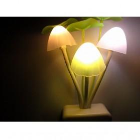 V-tie Romantic LED Mushroom Dream Night Light Bed Lamp - White - 2