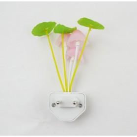 V-tie Romantic LED Mushroom Dream Night Light Bed Lamp - White - 3