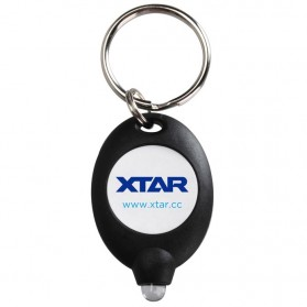XTAR LED Keychain Light Black - XPK - Black