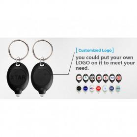 XTAR LED Keychain Light Black - XPK - Black - 5