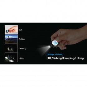 XTAR LED Keychain Light Black - XPK - Black - 7