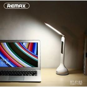 Remax Lampu Meja Belajar USB LED Display 3750-4250K - RT-E185 - White - 5
