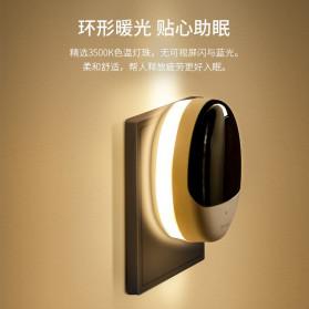 BASEUS Lampu Tidur Pintar LED Plug in Night Light 3500K - DGBS-02 - White/Black - 2