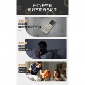 BASEUS Lampu Tidur Pintar LED Plug in Night Light 3500K - DGBS-02 - White/Black - 6