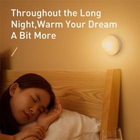 Baseus Lampu Tidur LED Night Light USB Rechargeable Warm Light - Warm White - 7