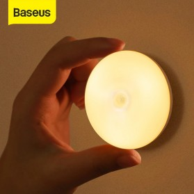 Baseus Lampu Tidur LED Night Light USB Rechargeable Cool Light - DGYUA-LA02 - White