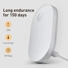 Baseus Lampu LED Magnetic Night Light PIR Sensor Cool White - DGSUN-RB02 - White - 5