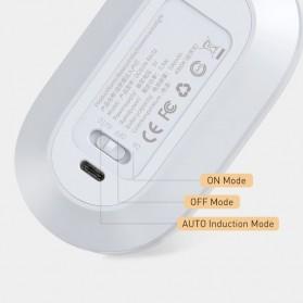 Baseus Lampu LED Magnetic Night Light PIR Sensor Cool White - DGSUN-RB02 - White - 6