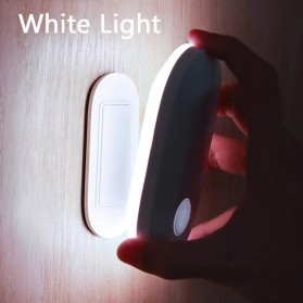 Baseus Lampu LED Magnetic Night Light PIR Sensor Cool White - DGSUN-RB02 - White
