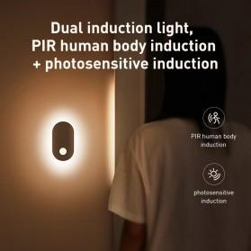 Baseus Lampu LED Magnetic Night Light PIR Sensor Cool White - DGSUN-RB02 - White - 2