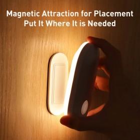 Baseus Lampu LED Magnetic Night Light PIR Sensor Cool White - DGSUN-RB02 - White - 3