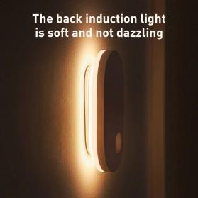 Baseus Lampu LED Magnetic Night Light PIR Sensor Cool White - DGSUN-RB02 - White - 4