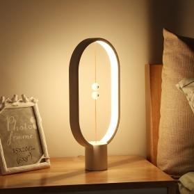Allocacoc LightMe Lampu Tidur Heng Balance Indoor Table Lamp Night Light - DH0037 - Black - 4