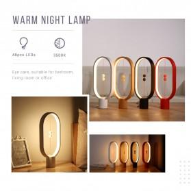 Allocacoc LightMe Lampu Tidur Heng Balance Indoor Table Lamp Night Light - DH0037 - Black - 9