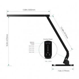 Aukey Lampu Meja Belajar LED - LT-T1 - Black - 4