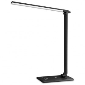 LED Lightning - Aukey Lampu Meja Belajar LED - LT-T10 - Black