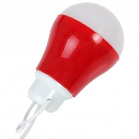 Lampu Belajar / Lampu USB - Lampu Bohlam LED Mini - Red
