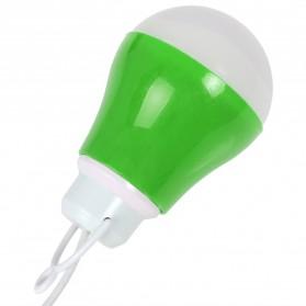Lampu Belajar / Lampu USB - Lampu Bohlam LED Mini - Green